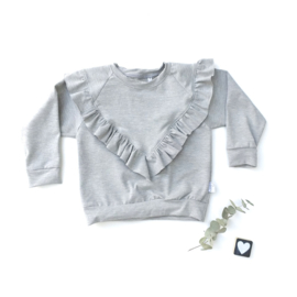 Isa Sweater ruffels kleur keus
