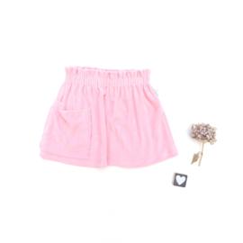 Skirt badstof kleurkeus