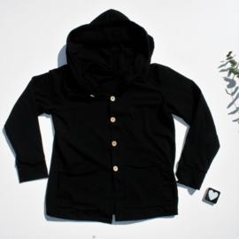 Hooded vest tricot Kleur keus