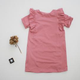 A-lijn jurk Ruffels Back&Front kleur keus