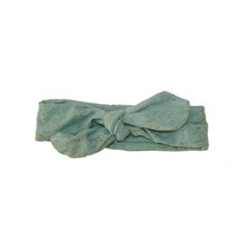 Haarbandje met spikkeltjes