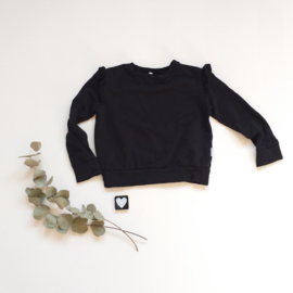 Big sweater zwart