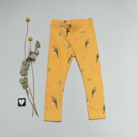 Legging/Broekje papegaai geel