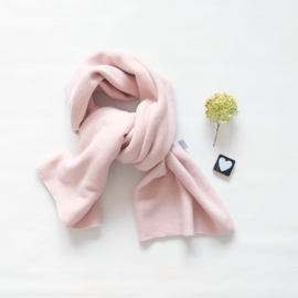 Lange Sjaal organic cotton zalm