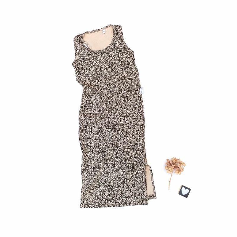Maxi dress tricot stof keus
