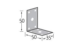 hoekanker 50 x 50 x 35 mm  per 20 stuks