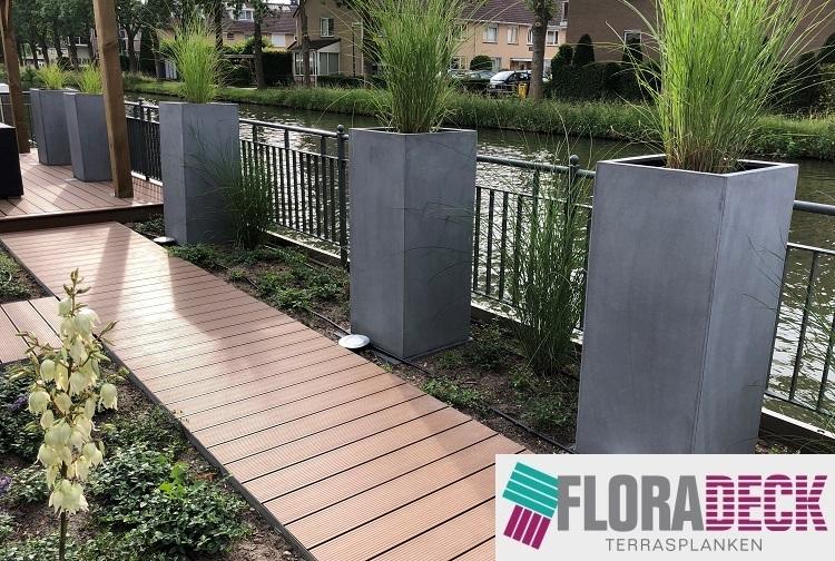 Floradeck kunststof terrasplank