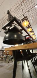 LAMP POZNAN  MET X METALEN KAPPEN ALL BLACK