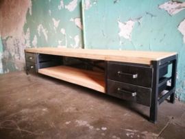 INDUSTRIËLE TV MEUBEL TV DRESSOIR BUKOW