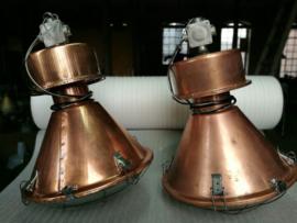 INDUSTRIËLE LAMP BELL KOPER