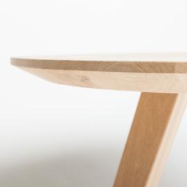Ovale eiken tafel  Obra V