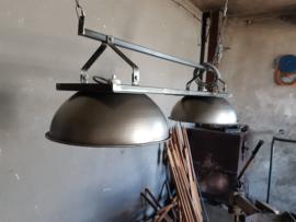 Industriële eettafel lampen