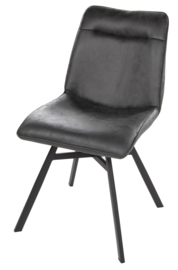 Harris stoel leather anthracite (2x)