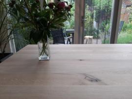 Eiken tafelblad Rewa vierkant