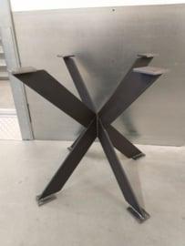 Ronde eiken tafel Rowy Matrix plat (2cm dik blad)