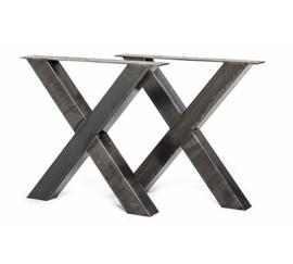 X-onderstel set 8x4,10x10 of 12x12cm