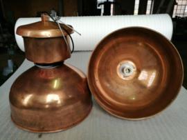 INDUSTRIËLE LAMP MUSHROOM KOPER