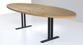 Ovale eiken tafel Obra I
