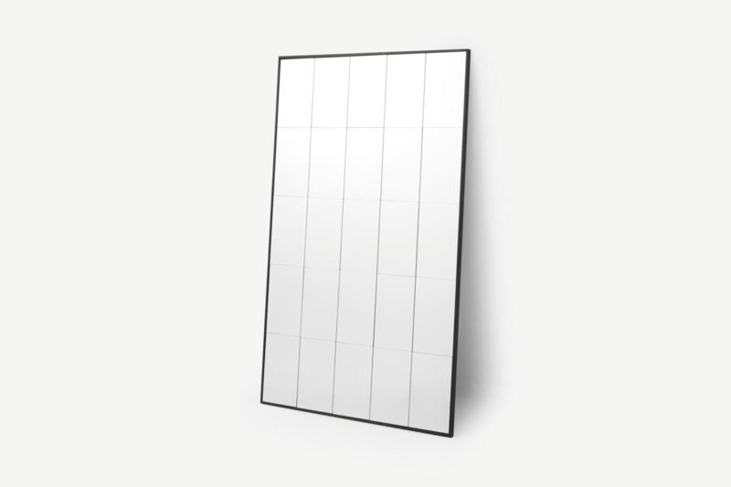 Spiegel Sopot industrial edge design 4x2cm frame