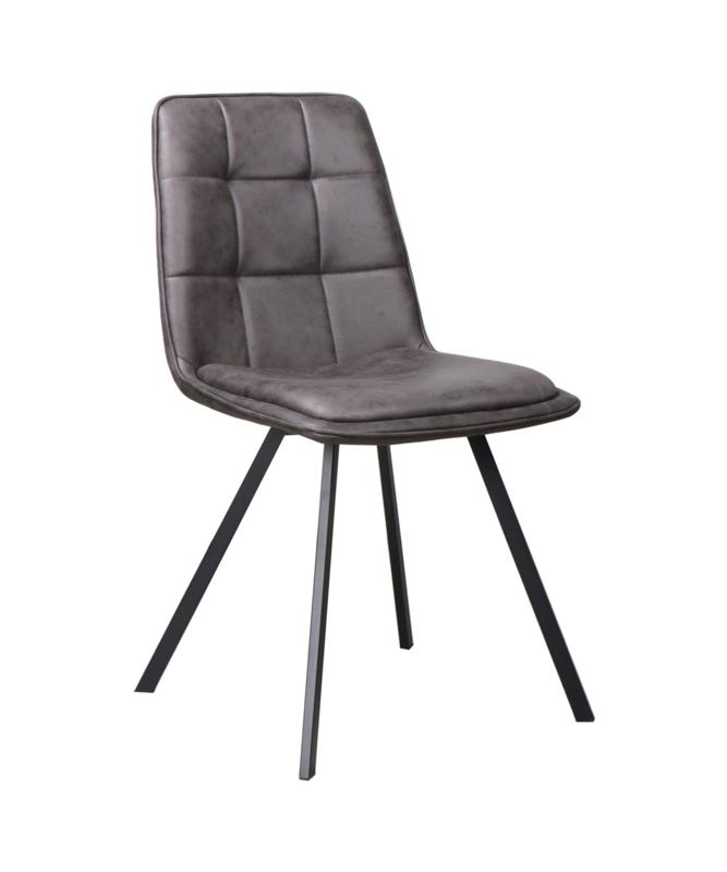 Harv  stoel leather anthracite (2x)