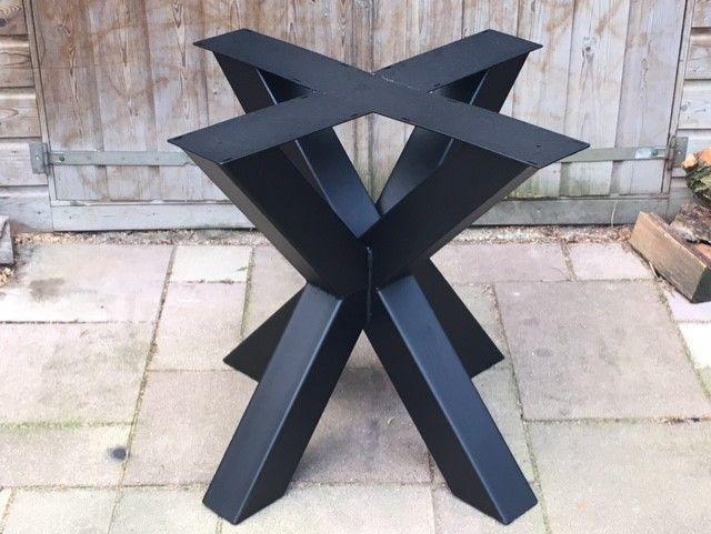 Metalen Tafelpoot Voor Ronde Tafel.Metalen Matrix Poot Voor Ronde Tafels 12x12 10x10 Of 8x4cm