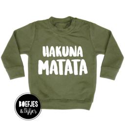 HAKUNA MATATA - SWEATER