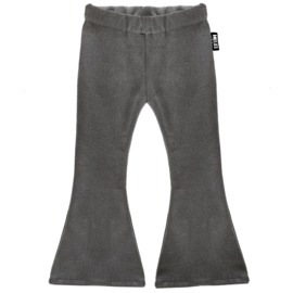 FLARED DENIM - WASHED GREY