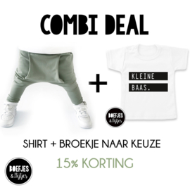 COMBI DEAL! - 15% KORTING