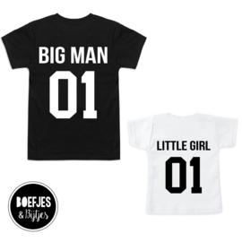 TWINNING | BIG MAN + LITTLE MAN / LITTLE GIRL