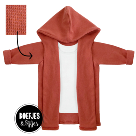 KNITTED HOODIE - ROEST