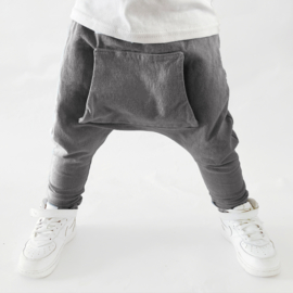 BAGGY WASHED GREY DENIM