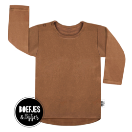 BASIC - BACKDROP SHIRT MET MERKTAG