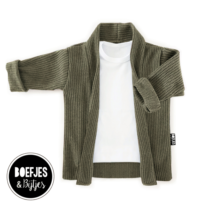 AWESOME KNIT - ARMY GREEN