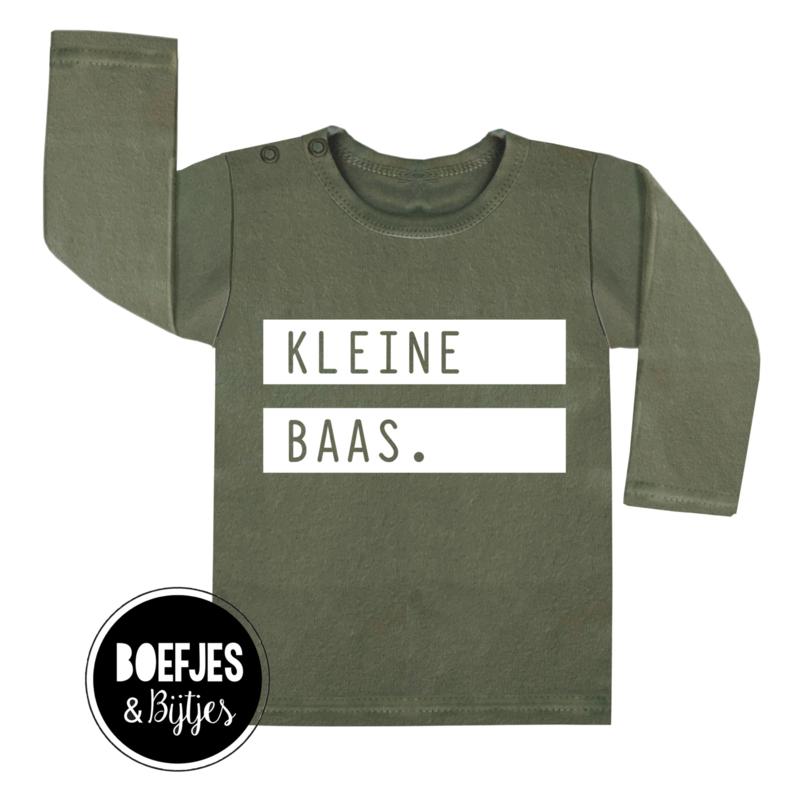 KLEINE BAAS - SHIRT