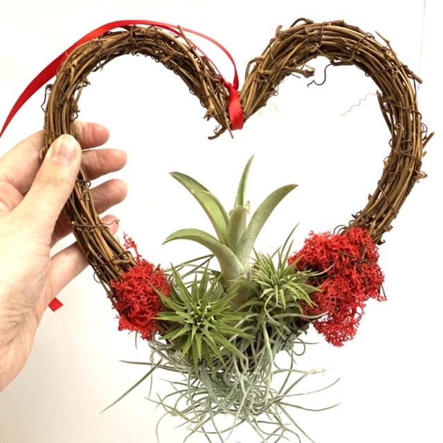 DIY: Krans hartvorm + airplants