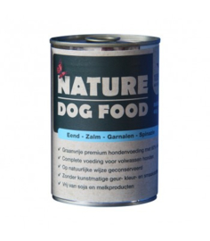 Nature Dog Eend,Zalm,Garnaal en Spinazie, 400gr. GRAANVRIJ