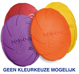 Rubber frisbee Dog o soar 15,18 of 22 cm