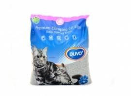 Kattenbakvulling, premium, met babypoeder geur.