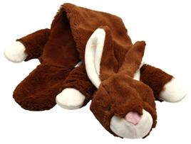 Unstuffed pluche konijn 60cm