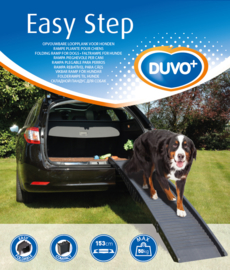 Loopplank auto plastic easy step (tot 50kg) Grijs 43x40x26