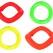 rubberen ring drijvend , 15 cm