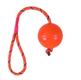 Dogtoy, Ruber bal met koort 30 cm