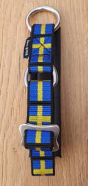 Semi strop halsbanden ,gevoerd met nylon of fleece 30 mm