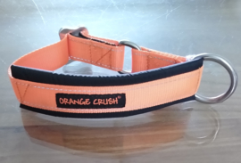 orange crush , gevoerde kennelhalsband