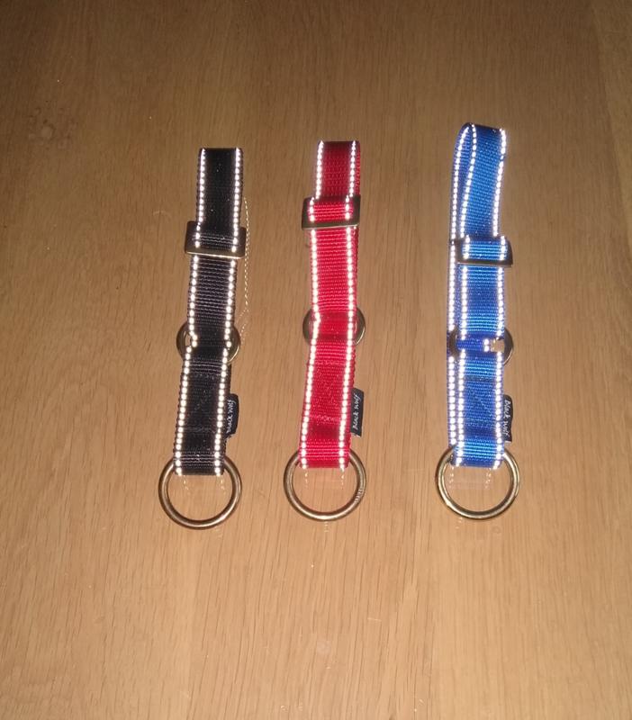 Halsband met steekslot eco line : 10 mm, 15 mm ,20 mm of 25 m