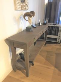 Houten side tabel