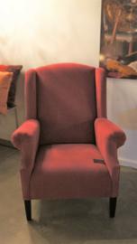 Rode klassieke fauteuil