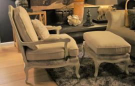Franse fauteuil