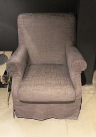 Los gestoffeerde fauteuil