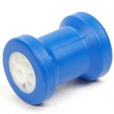 Bootrol: kielrol blauw 130x90 mm asgat 15 mm